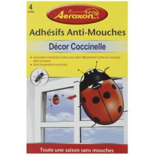 4 adhésifs anti-mouches...